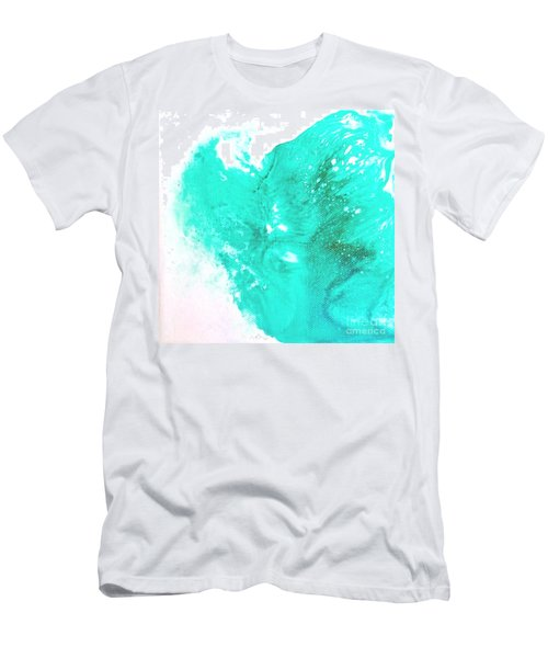 Crystal Wave9 Men's T-Shirt (Athletic Fit)