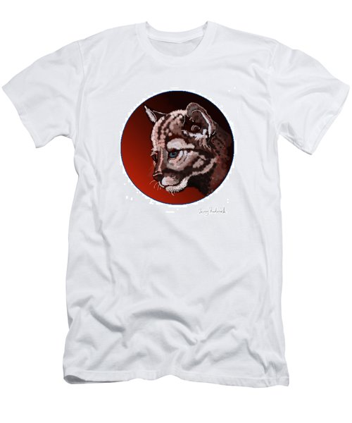 Cub Men's T-Shirt (Slim Fit) by Terry Frederick