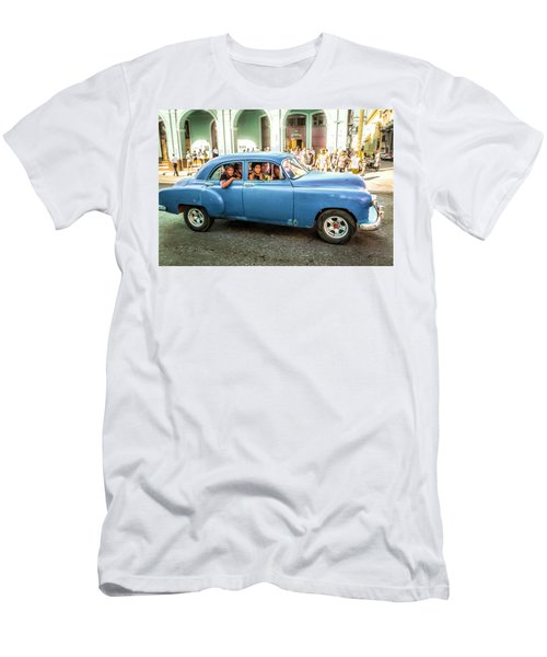 Cuban Taxi Men's T-Shirt (Athletic Fit)
