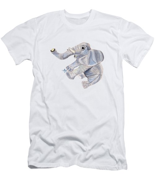 Cuddly Elephant IIi Men's T-Shirt (Athletic Fit)