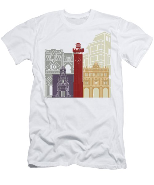 Cuenca Skyline Poster  Men's T-Shirt (Athletic Fit)