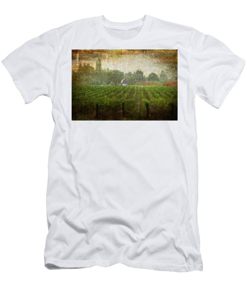 Cultivating A Chardonnay Men's T-Shirt (Athletic Fit)
