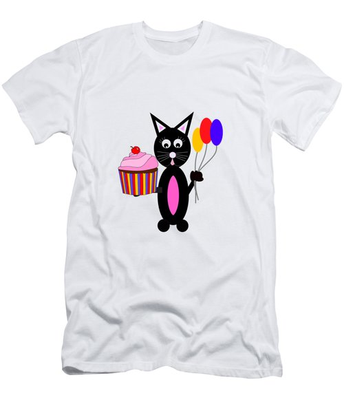 Cup Cake Party Men's T-Shirt (Slim Fit)