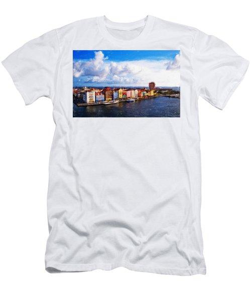 Curacao Oil Men's T-Shirt (Athletic Fit)