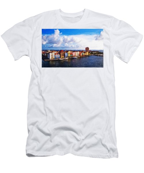 Curacao Oil Men's T-Shirt (Athletic Fit)