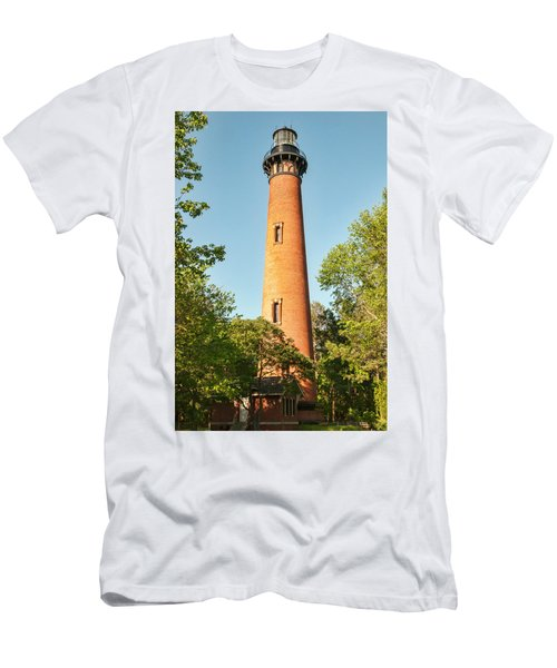 Currituck Beach Lighthouse Men's T-Shirt (Athletic Fit)
