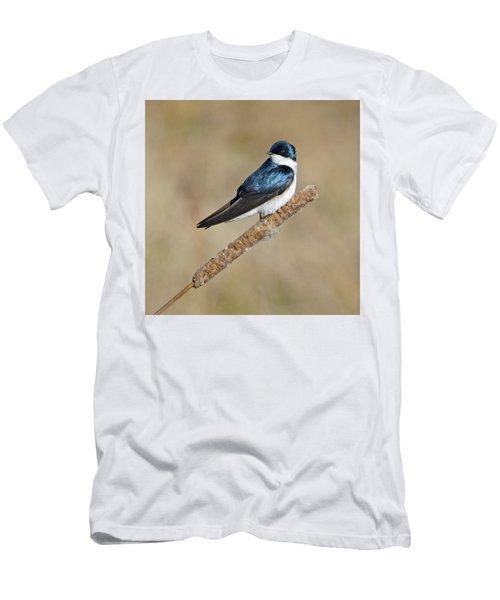 Cushy Perch Men's T-Shirt (Slim Fit) by Stephen Flint