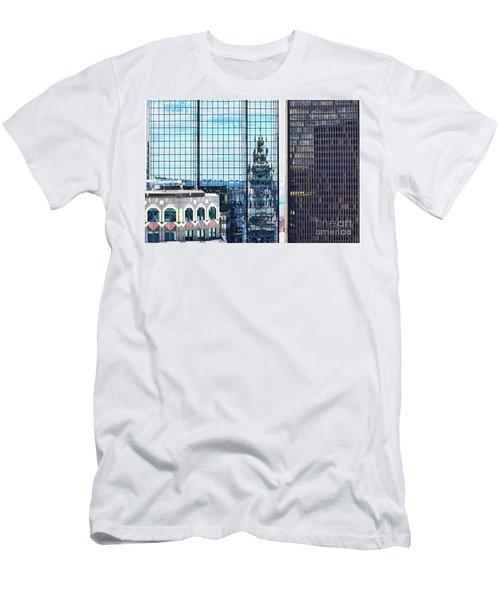 Custom House Reflection Men's T-Shirt (Athletic Fit)
