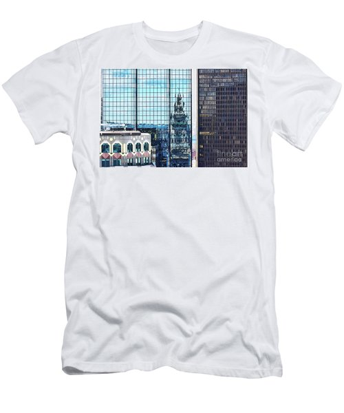 Custom House Reflection Men's T-Shirt (Athletic Fit)