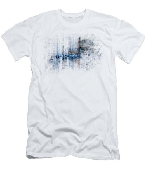 Cyber City Design Men's T-Shirt (Athletic Fit)