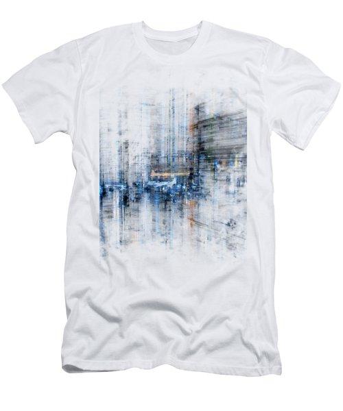 Cyber City Design Men's T-Shirt (Athletic Fit)