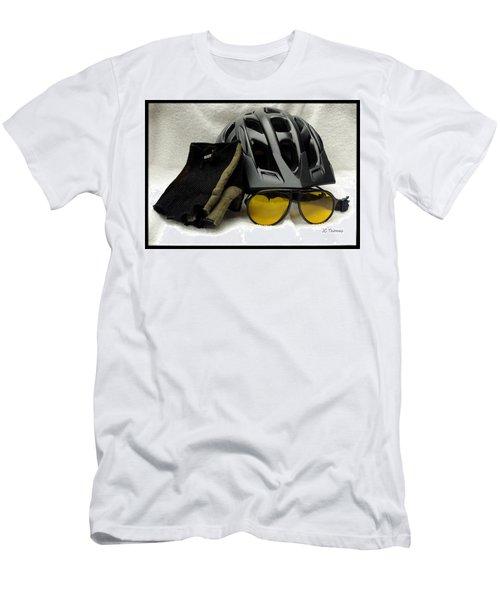 Cycling Gear Men's T-Shirt (Slim Fit) by James C Thomas