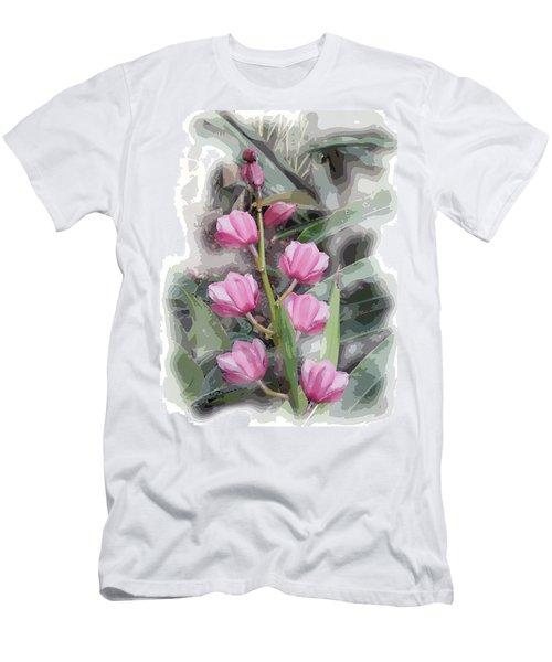 Cymbidium Men's T-Shirt (Athletic Fit)
