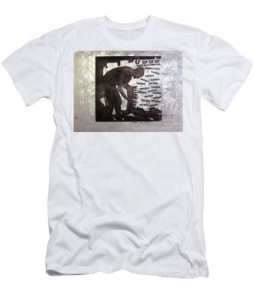 D U Rounds Project, Print 36 Men's T-Shirt (Athletic Fit)
