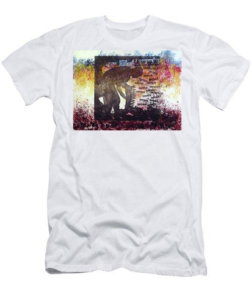 D U Rounds Project, Print 37 Men's T-Shirt (Athletic Fit)