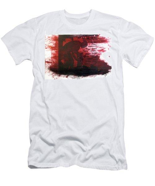 D U Rounds Project, Print 38 Men's T-Shirt (Athletic Fit)