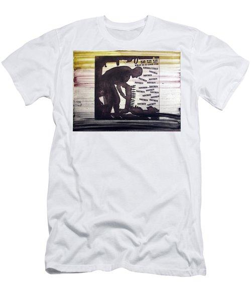 D U Rounds Project, Print 45 Men's T-Shirt (Athletic Fit)