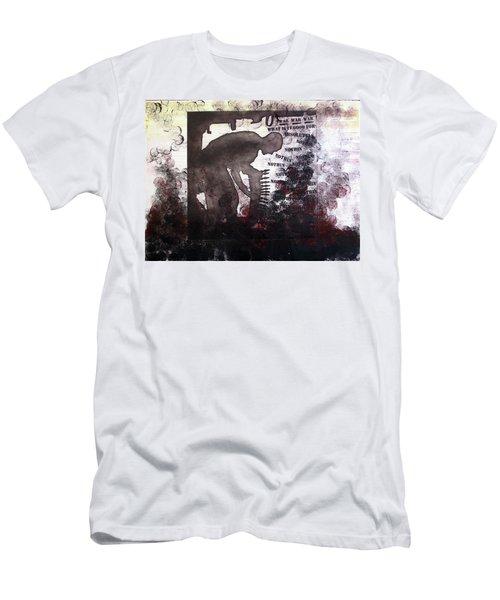 D U Rounds Project, Print 46 Men's T-Shirt (Athletic Fit)