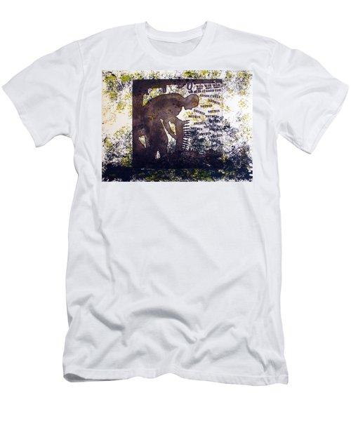 D U Rounds Project, Print 47 Men's T-Shirt (Athletic Fit)