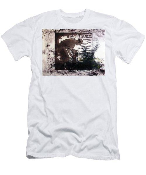 D U Rounds Project, Print 50 Men's T-Shirt (Athletic Fit)