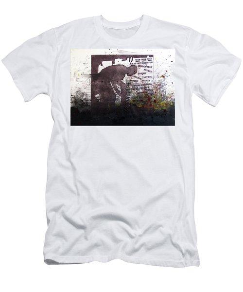 D U Rounds Project, Print 51 Men's T-Shirt (Athletic Fit)
