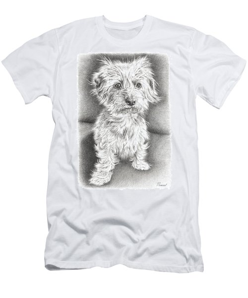 Dachshund Maltese Men's T-Shirt (Athletic Fit)