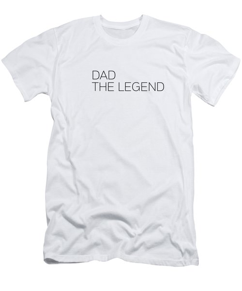 Dad The Legend Men's T-Shirt (Slim Fit) by Andrea Anderegg