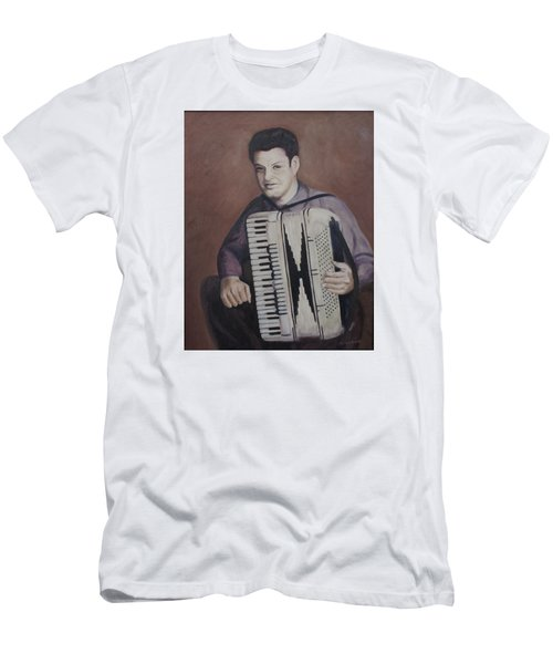 Daddy And His Accordion Men's T-Shirt (Athletic Fit)
