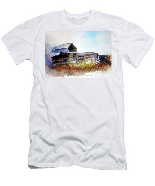 Dad's Farm House Men's T-Shirt (Athletic Fit)