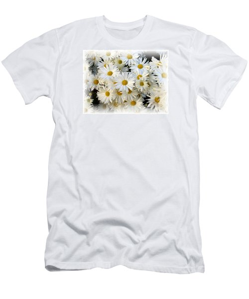 Daisy Bouquet Men's T-Shirt (Slim Fit) by Carol Sweetwood