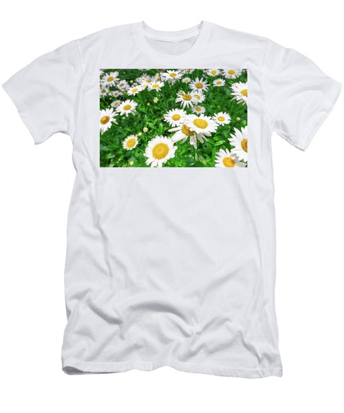 Daisy Garden Men's T-Shirt (Athletic Fit)