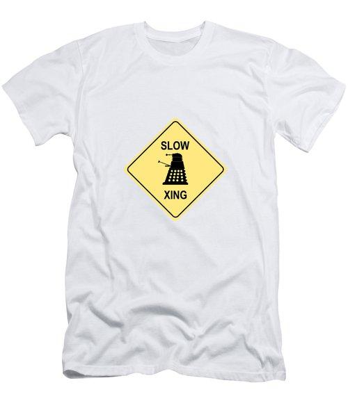 Dalek Crossing Men's T-Shirt (Athletic Fit)