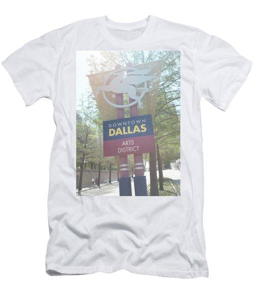 Dallas Arts District Men's T-Shirt (Athletic Fit)