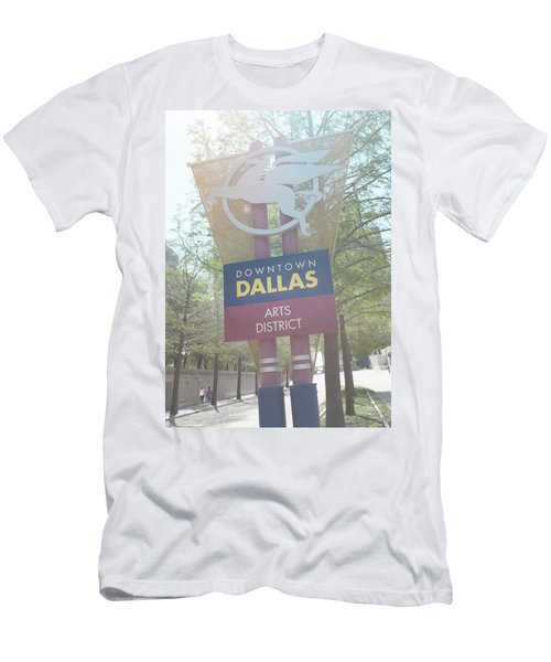 Dallas Arts District Men's T-Shirt (Athletic Fit)