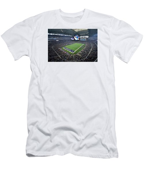 Dallas Cowboys Att Stadium Men's T-Shirt (Athletic Fit)