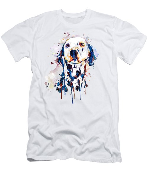 Dalmatian Head Men's T-Shirt (Athletic Fit)