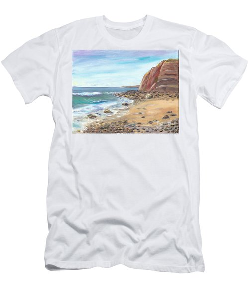 Dana Point Beach Men's T-Shirt (Athletic Fit)
