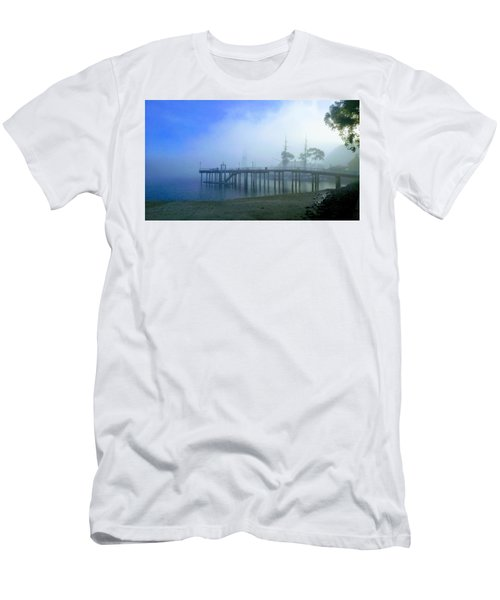 Dana Point Harbor When The Fog Rolls In Men's T-Shirt (Athletic Fit)
