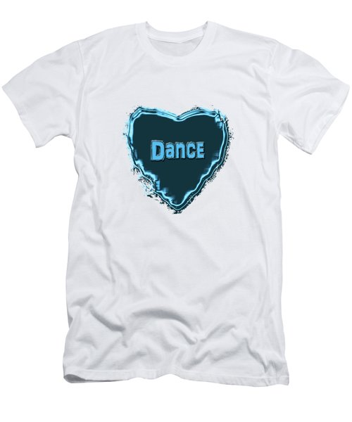 Men's T-Shirt (Slim Fit) featuring the digital art Dance by Linda Prewer