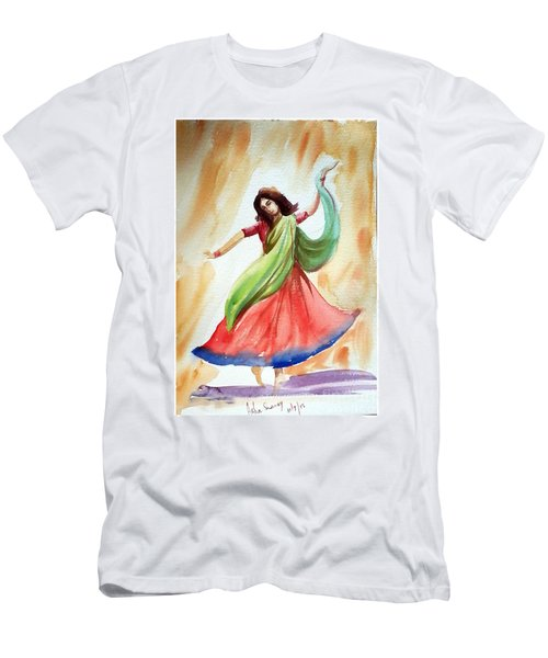 Dance Of Abandon Men's T-Shirt (Athletic Fit)
