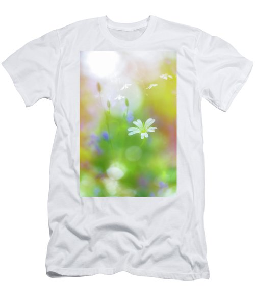 Dance Of The Nature Spirits Men's T-Shirt (Athletic Fit)