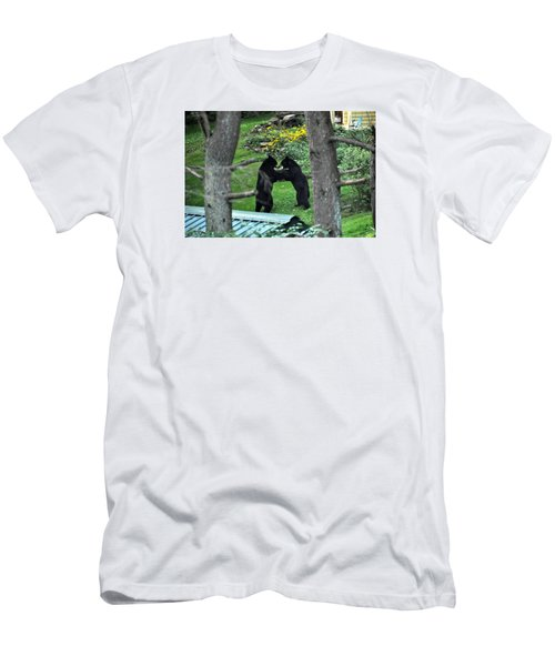 Dancing Bears Men's T-Shirt (Athletic Fit)