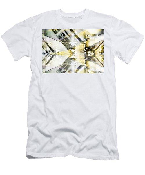 Dancing Lines Men's T-Shirt (Athletic Fit)