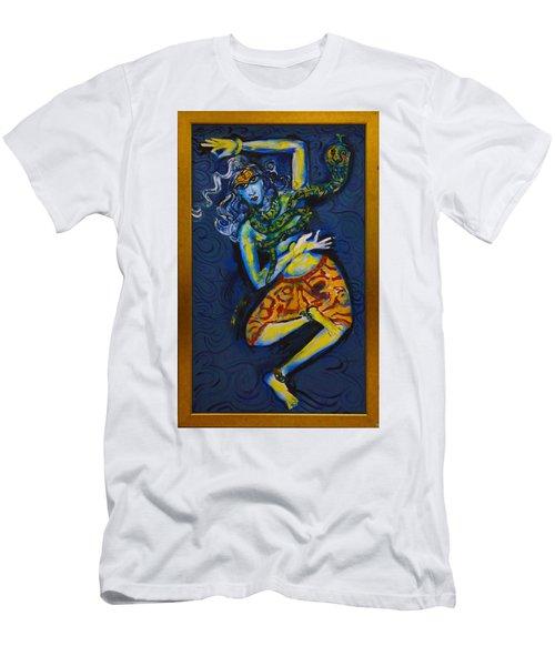 Dancing Shiva Men's T-Shirt (Athletic Fit)