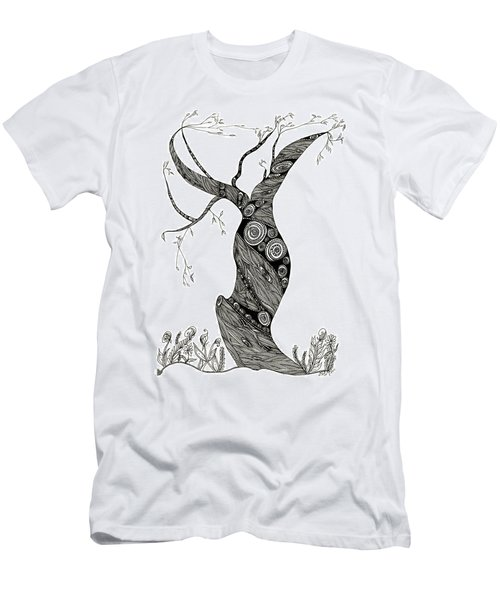 Dancing Tree Men's T-Shirt (Athletic Fit)