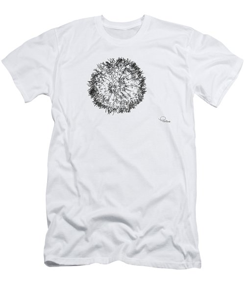 Men's T-Shirt (Slim Fit) featuring the photograph Dandelion by Ludwig Keck