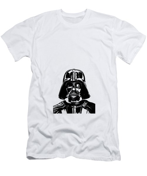 Darth Vader Painting Men's T-Shirt (Slim Fit) by Edward Fielding