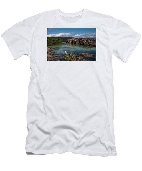 Darwin Bay     Genovesa Island      Galapagos Islands Men's T-Shirt (Athletic Fit)