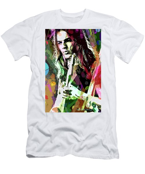 Dave Gilmour Dark Side Men's T-Shirt (Athletic Fit)