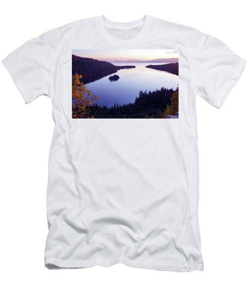 Dawn At Emerald Bay, Lake Tahoe Men's T-Shirt (Athletic Fit)